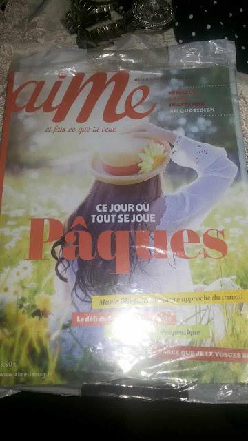 إثبات وصول مجلة جميلة جدا من Aime و طريقة الحصول عليها مجانا الى باب منزلك