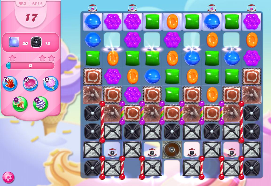 Candy Crush Saga level 4314