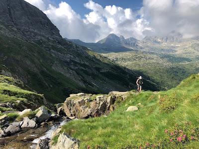 Trail 225 near Monte Grabiasca.