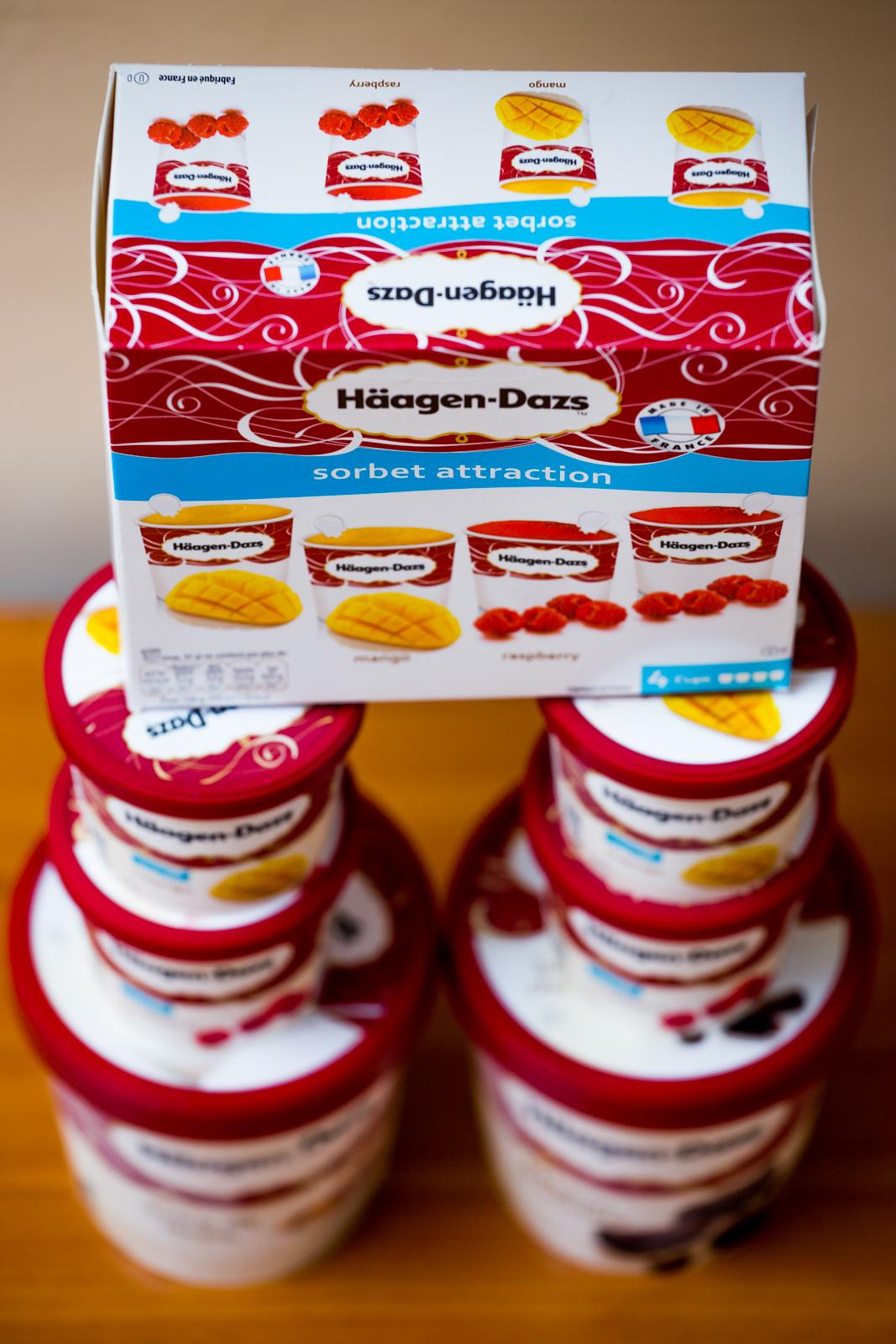 Înghețată Häagen-Dazs este desertul meu preferat de Sărbatori