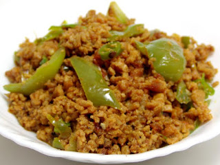 achari shimla mirch keema recipe in urdu