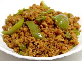 achari shimla mirch keema recipe in urdu