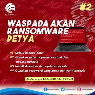 Cara Mengatasi Serangan Petya Ransomware