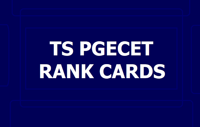 TS PGECET Rank Cards 2019 released on June 20 at TSPGECET Website