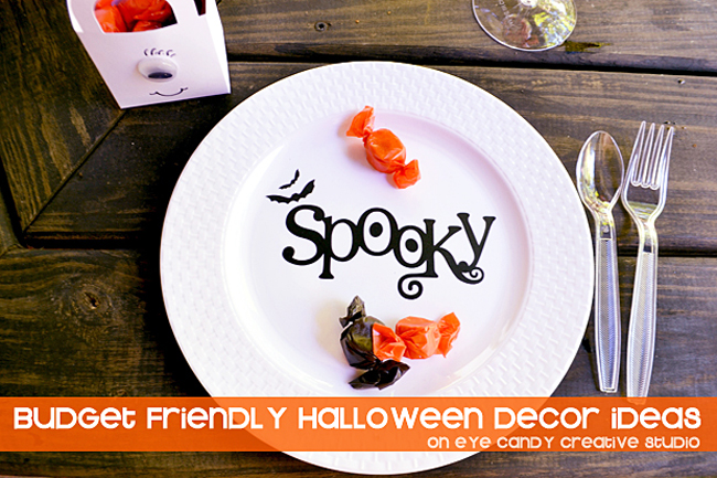 budget friendly halloween decor ideas, halloween decorating on a budget