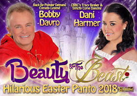 Beauty & the Beast panto poster