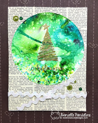 O Xmas Tree | Newtons Nook Designs | Created by Danielle Pandeline