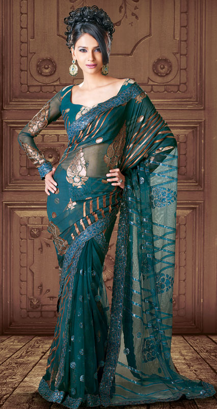 New Saree Designs In Sri Lanka