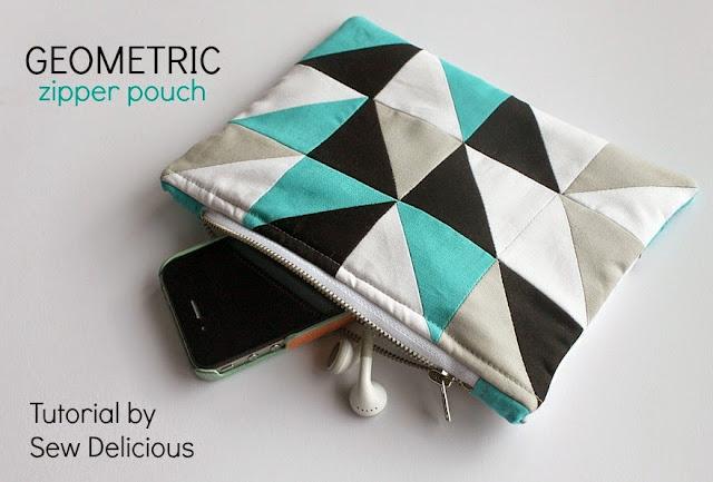 http://sewdelicious.com.au/2014/05/geometric-zipper-pouch-tutorial.html