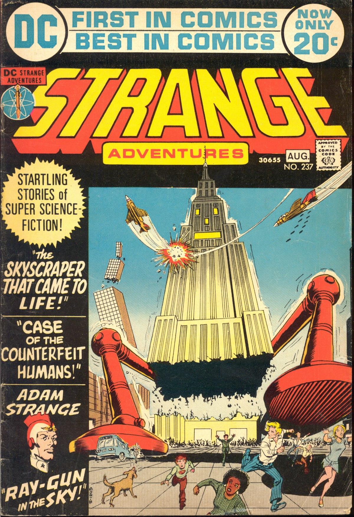 Strange Adventures (1950) issue 237 - Page 1