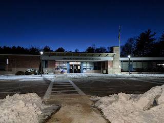 The Parmenter Elementary School over the Christmas holiday break