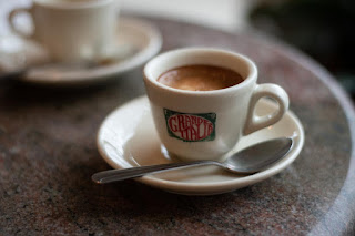 Real Italian Macchiato In Espresso Cup