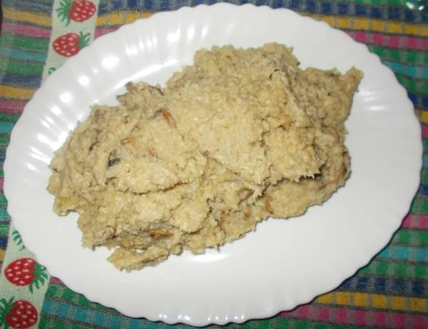 Risoto light de quinoa e cogumelos