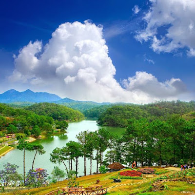 Valley of Love – a famous destination romantic in the highland city of Da Lat