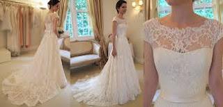 Modelos de vestidos de noiva tomara que caia simples