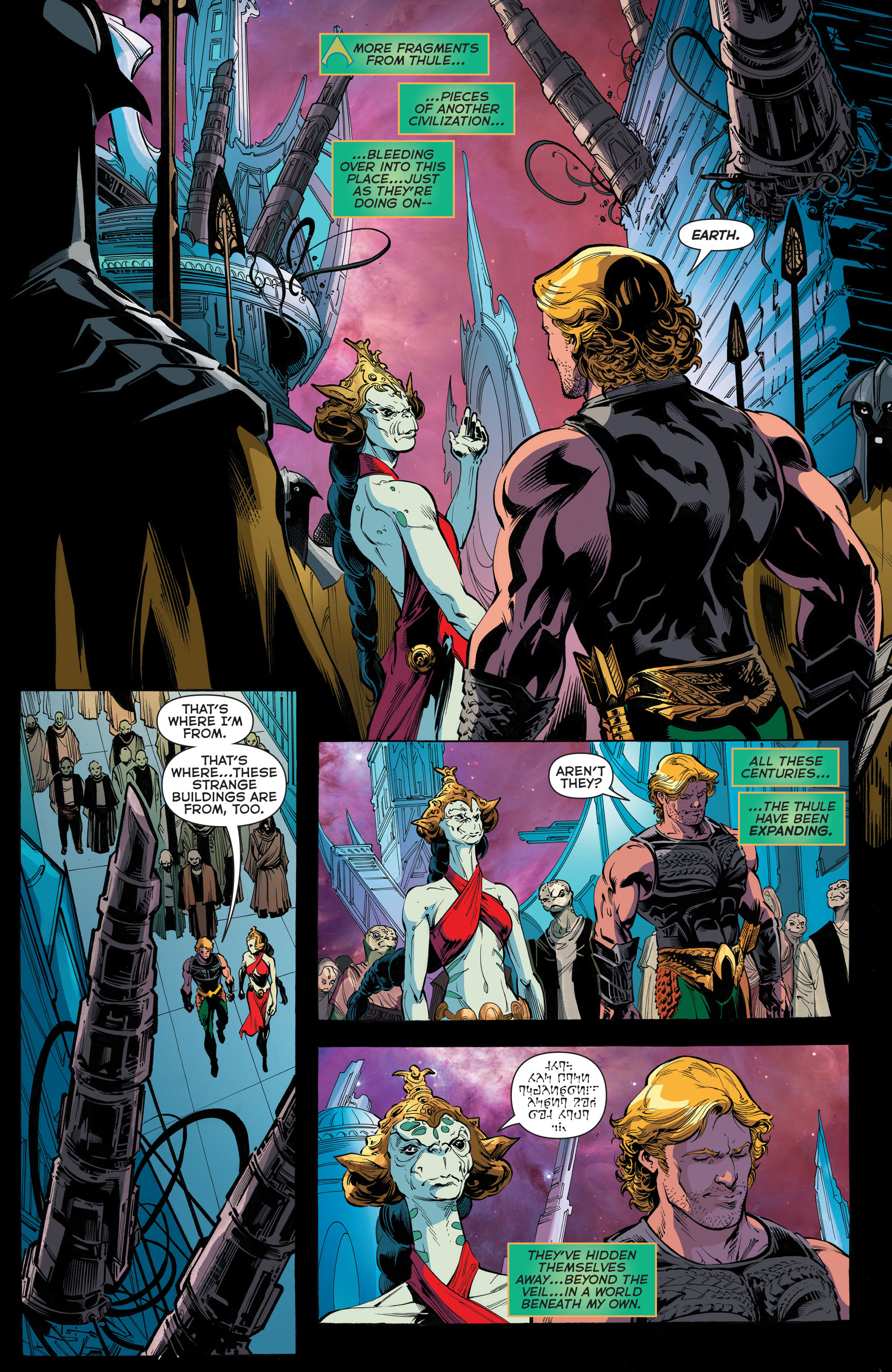 Read online Aquaman (2011) comic -  Issue #45 - 17