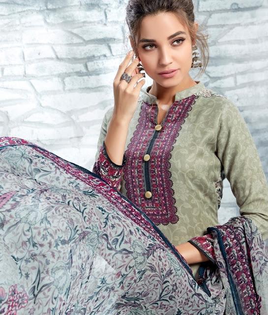 Fiona Pehel Pashmina Winter Salwar Kameez wholesaler