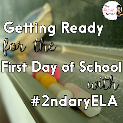 First impressions matter. Maybe that's why teachers obsess over the first day of school so much. We're all hoping that a good first day will lead to a great year. As you prepare to go back to school, check out 10 of our past #2ndaryELA chats for ideas and advice on how to make your school year great.
