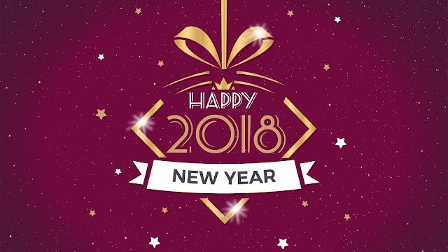 Happy New Year 2018 HD Images for Laptop