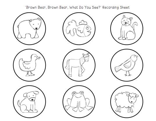 Preschool Wonders: Brown Bear, Brown Bear Spotlight!
