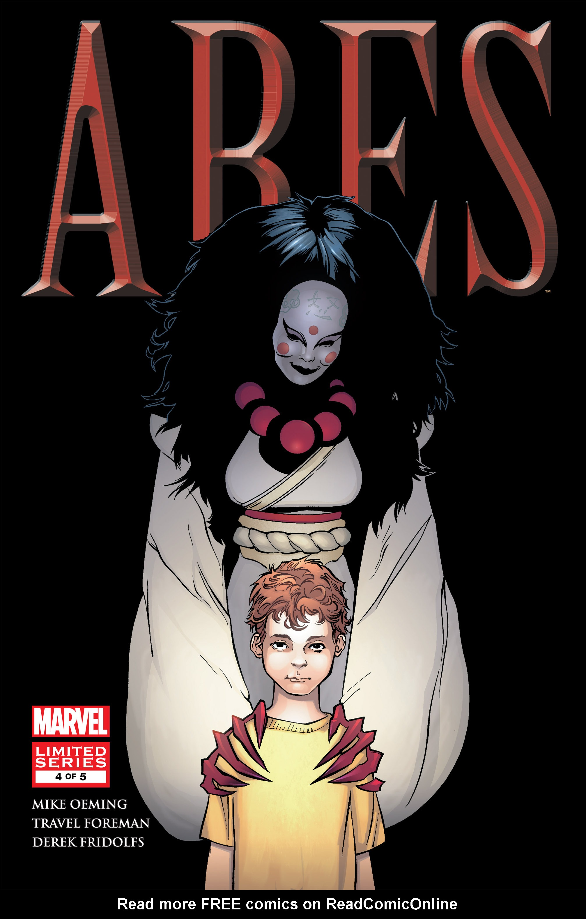 Read online Ares comic -  Issue #4 - 1