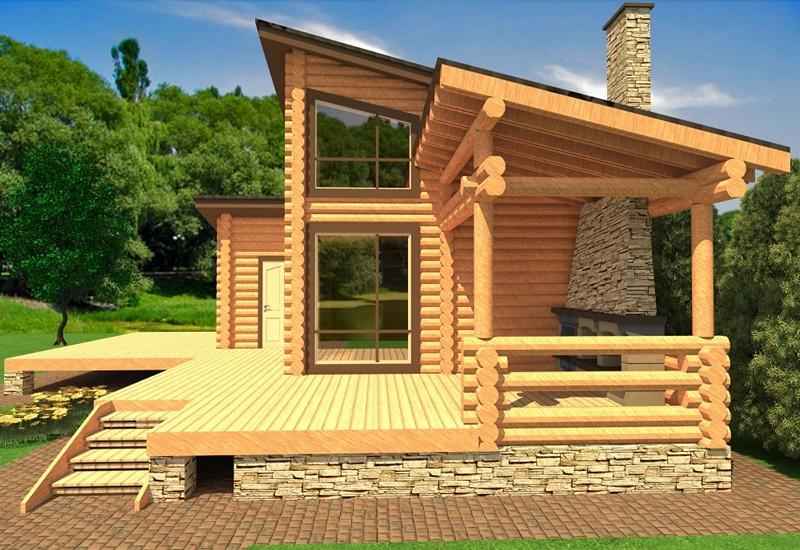 Жилой дачный дом