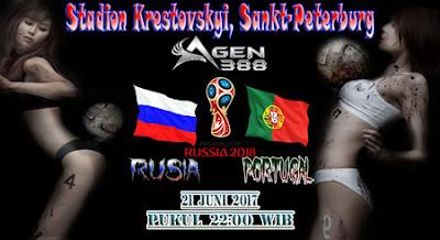 AGEN BOLA ONLINE TERBESAR - PREDIKSI PERTANDINGAN PIALA KONFEDERASI RUSIA VS PORTUGAL 21 JUNI 2017