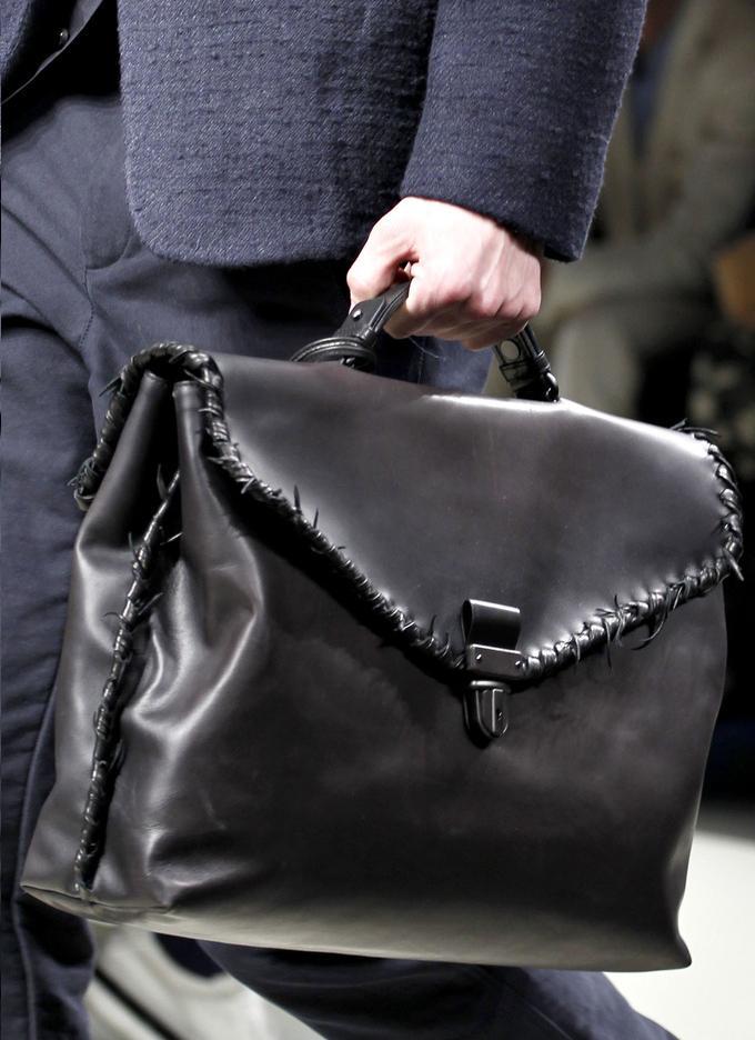Fashion Lifestyle Bottega Veneta Men S Bags Fall 2011