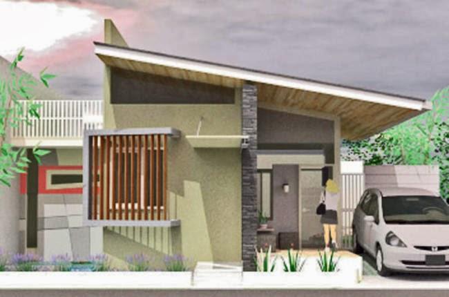 Inspirasi Desain Rumah Atap Miring 2 Lantai