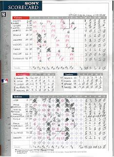 Orioles vs. Yankees, 09-13-09. Yankees win, 13-3.