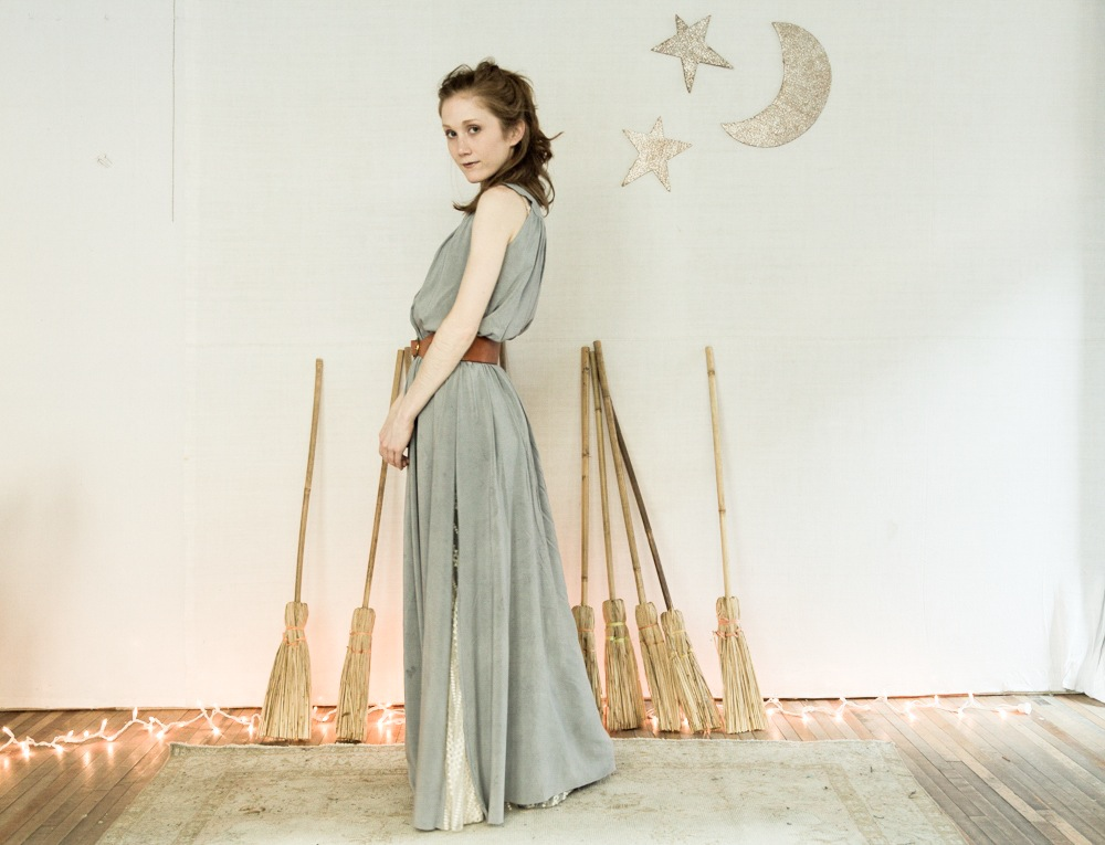 ba63f5abfe 7 Days of Holiday Party Dresses: Maddie's magical natural dye dress ...