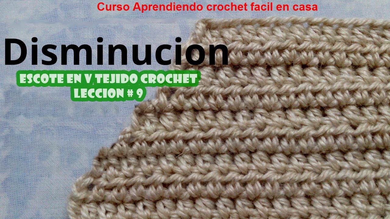 Aprendiendo Crochet en Casa
