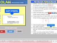 Aplikasi Cetak NISN Siswa dengan Excel untuk SD,SMP,SMA dan Sederajat