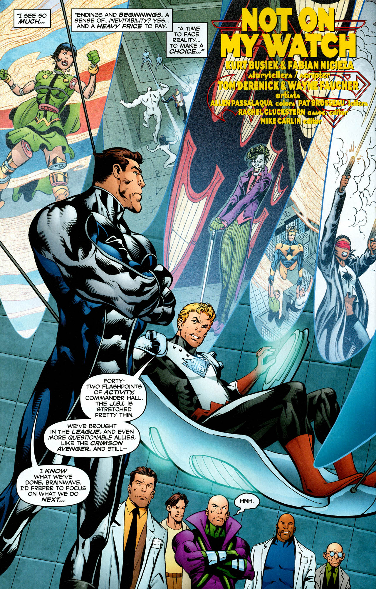 Read online Trinity (2008) comic -  Issue #29 - 15