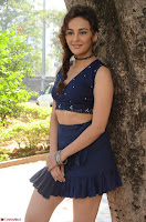 Seerat Kapoor Stunning Cute Beauty in Mini Skirt  Polka Dop Choli Top ~  Exclusive Galleries 034.jpg
