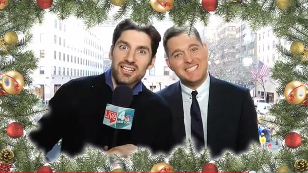 Michael Buble Holly Jolly Christmas.Hi Fi Bri Michael Buble And Ben Aaron Have A Holly Jolly
