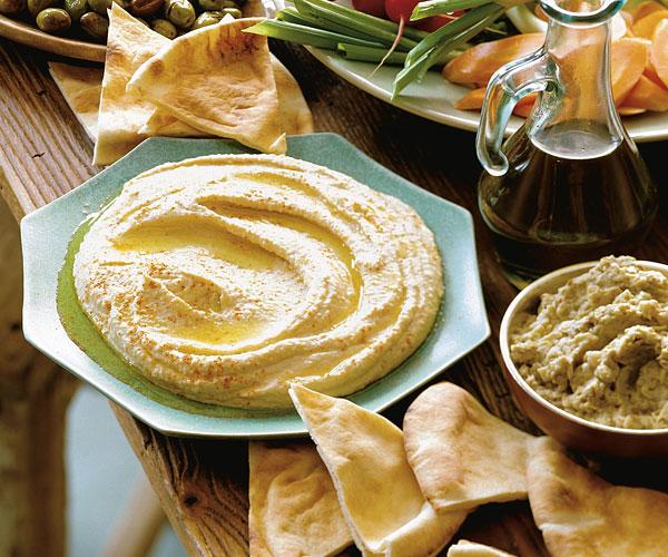 Hummus (Chickpea & Tahini Purée) Recipe