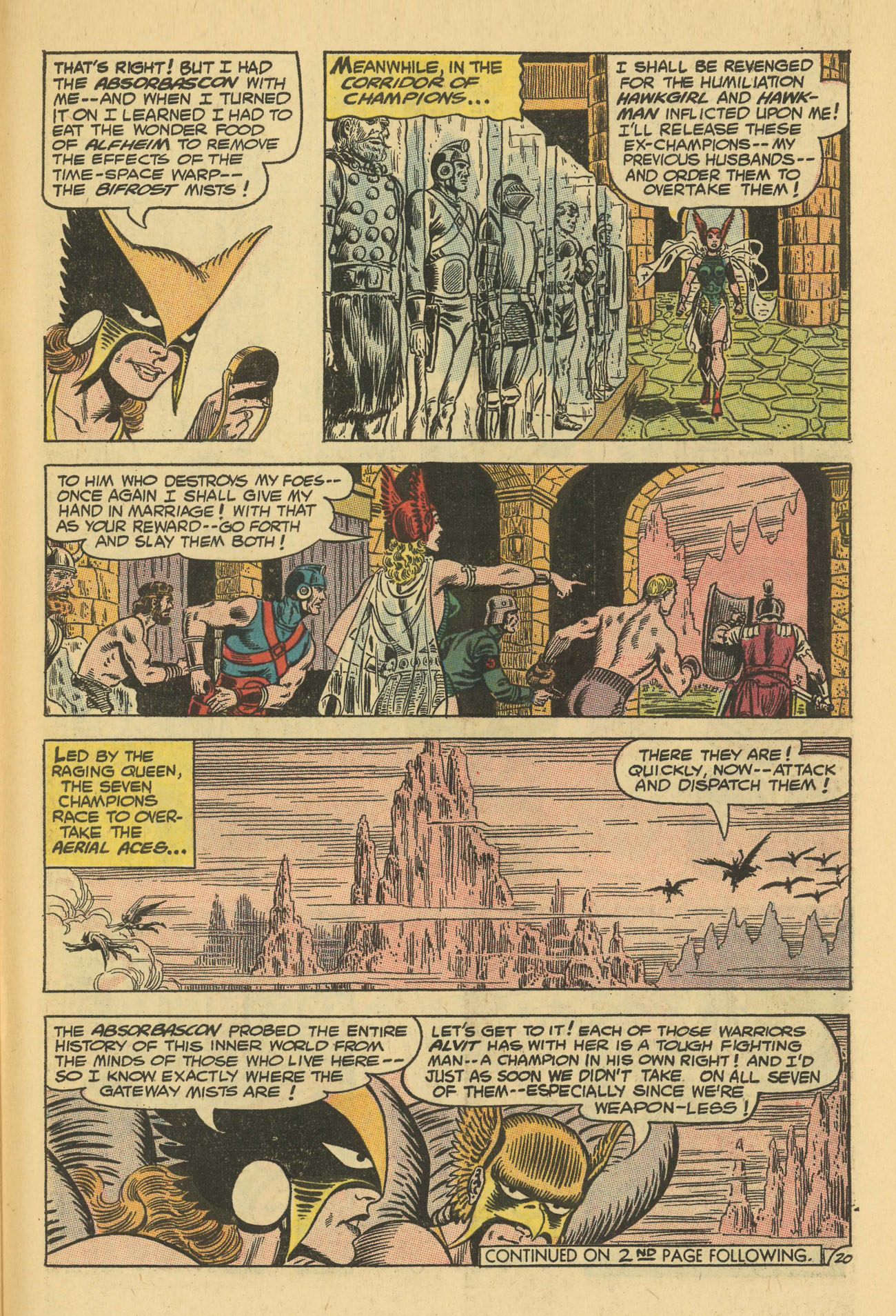 Hawkman (1964) issue 13 - Page 27