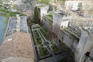 Jardín del Castillo de Tarascón.