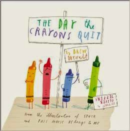 http://www.amazon.com/Day-Crayons-Quit-Drew-Daywalt/dp/0399255370/ref=sr_1_1?s=books&ie=UTF8&qid=1409707177&sr=1-1&keywords=the+day+the+crayons+quit