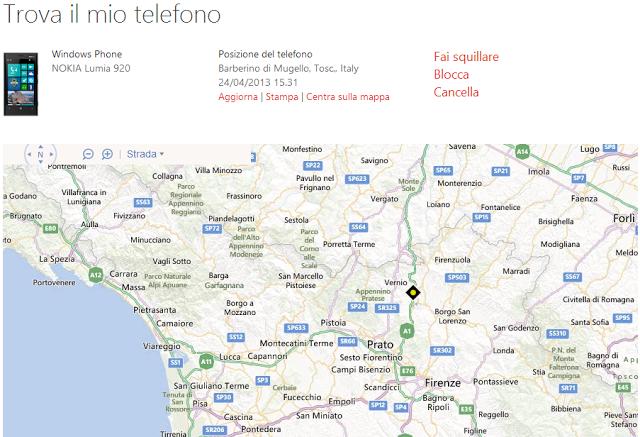 Come localizzare Lumia 535 e bloccarlo