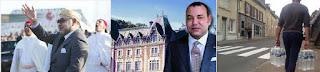 العطش يضرب بيتز الفرنسية مع قدوم الملك محمد السادس وحاشيته لقضاء العطلة