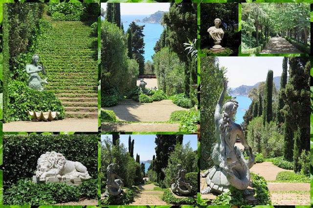 Jardin de Sant Clotilde Lloret de Mar, Costa Brava, Spain