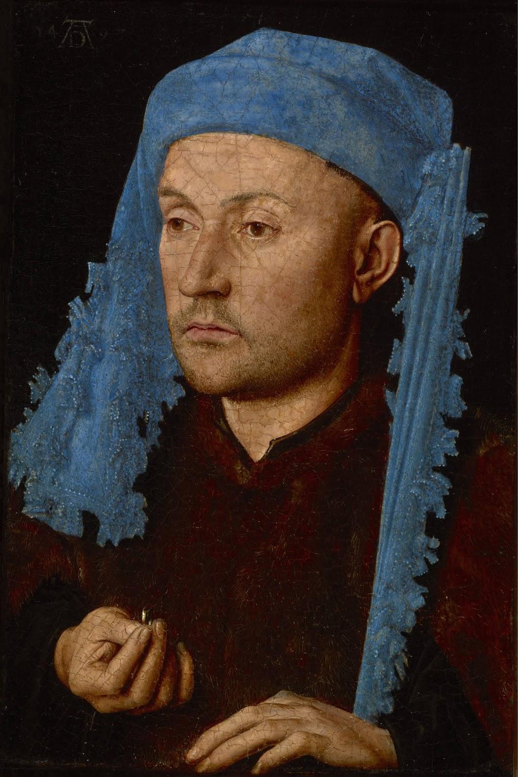 Retrato masculino, Van Eyck