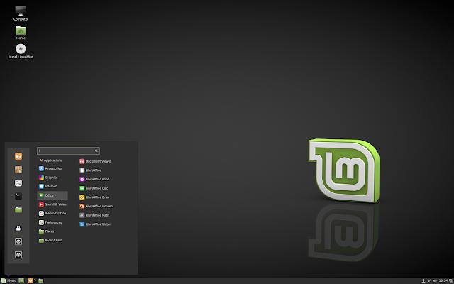 Linux Mint 18 Cinnamon Edition