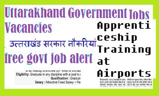 Apprenticeship Training in AAI-uttarakhand free job alert