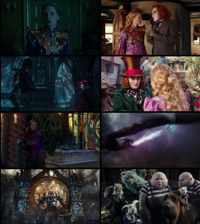 Alice Through The Looking Glass 2016 English 720p BluRay