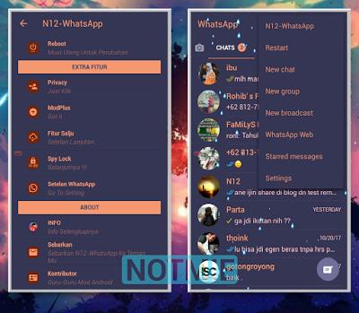 Whatsapp Mod N-12 Simple Theme