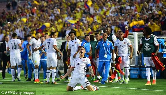 Kolombia 2-1 Paraguay : Dua Wajah La Albirroja
