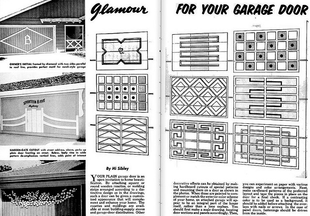 Mad For Mid Century Mid Century Garage Doors